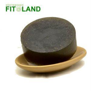 Маска шампунь для жирных волос с углем BLACK fitoland