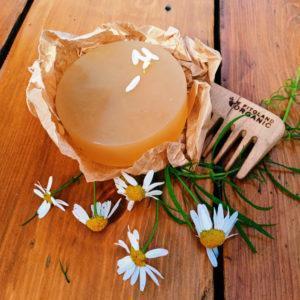 Шампуневое мыло Ромашка для волос и тела