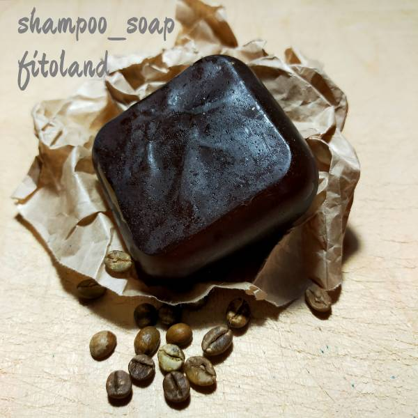 Шампуневое мыло Кофе fitoland