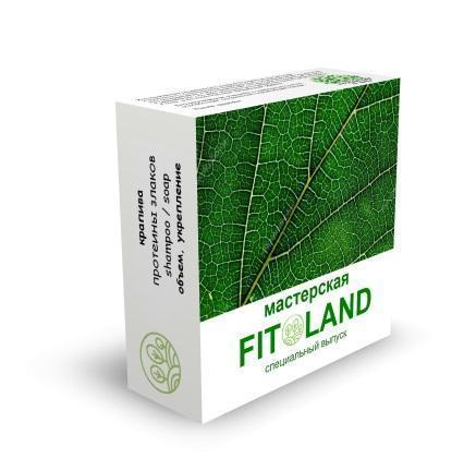 Шампунь Крапива Fitoland Organic, 85 гр