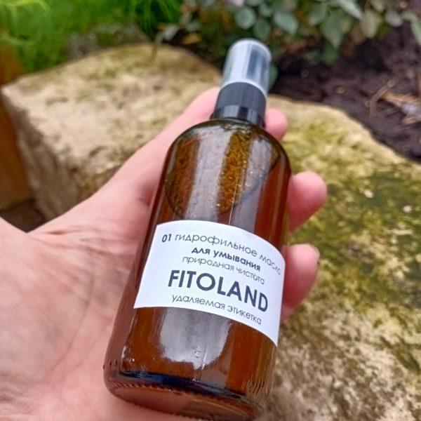 масло для умывания гидрофильное Fitoland Organic